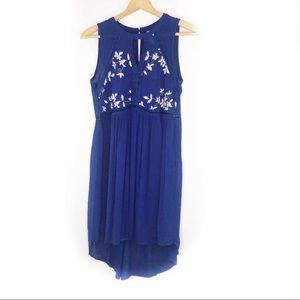 Francesca's Alya | Embroidered Boho Floral Dress S